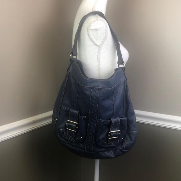 Tignanello Handbags - Tignanello Blue Purse